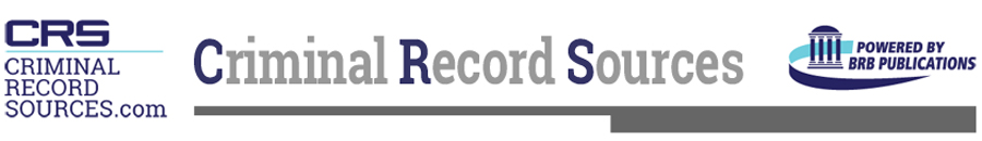 Criminal Record Sources